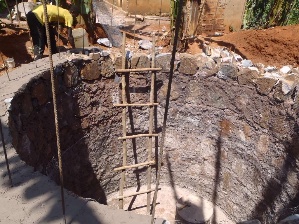 MAVUNO water tank construction